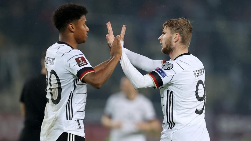 Fußball: Deutschland qualifiziert sich für die WM 2022