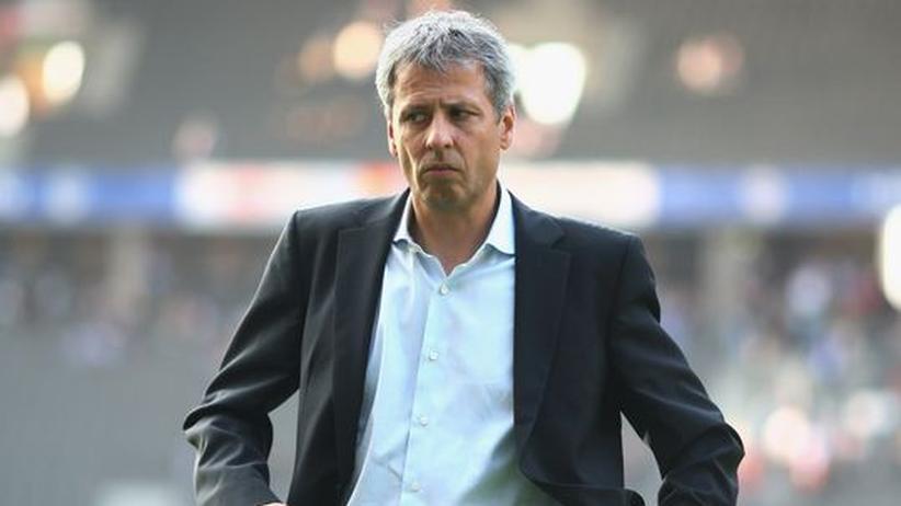 Lucien Favre: Hertha im Treibsand