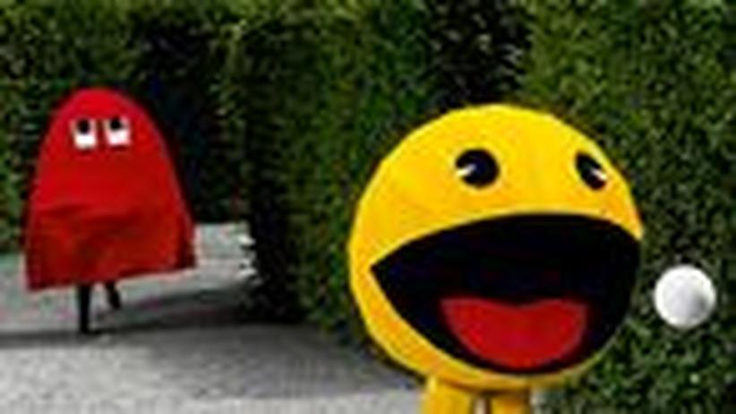 Fotoarbeit: Pacman lebt!
