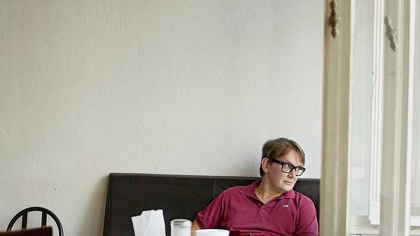 Mensagespräch mit Sven Regener: Sven Regener im Schwarzen Café in Berlin