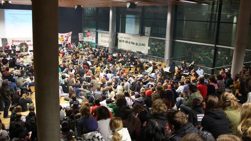 Studentenproteste: Besetzter Hörsaal an der Uni Innsbruck