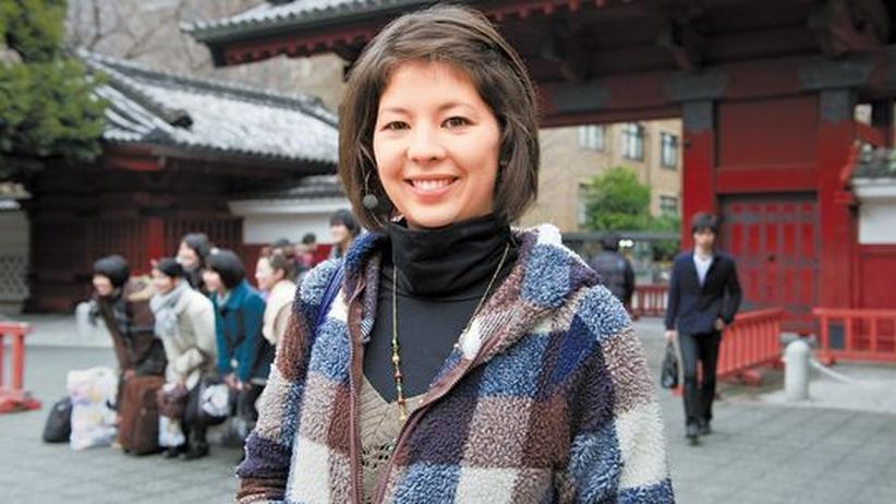 Japans Universitäten: Die Münchner Studentin Miriam Finkentey, 23, hat eine japanische Mutter und studiert für ein Auslandssemester an der Universität von Tokyo