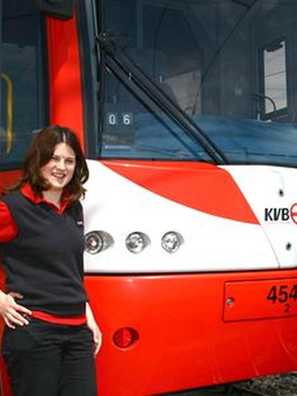Studentenjobs: Stadtbahnfahrerin Juliane Gerke