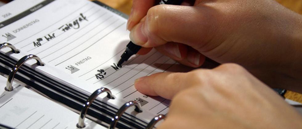 Realistische Planung hilft, um Dinge geregelt zu kriegen.