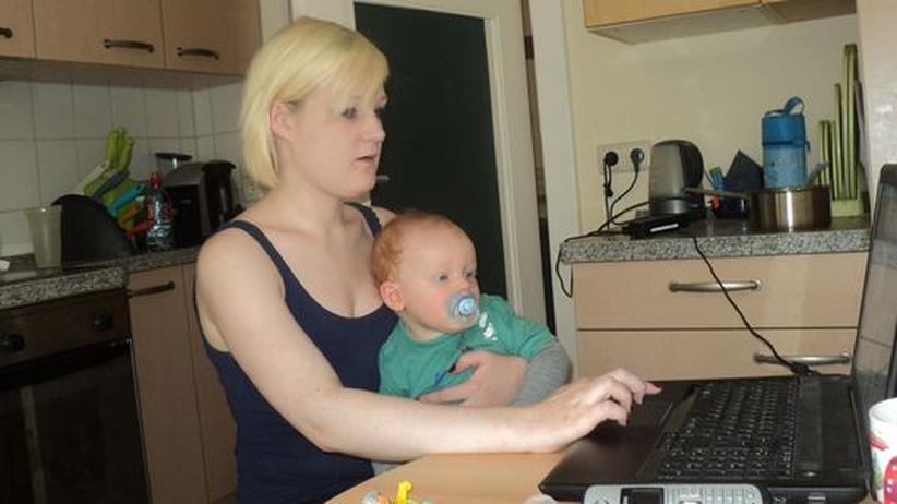 Studieren mit Kind: Anna und ihr Sohn Jasper