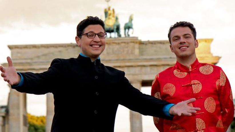 "Auslandsstudium: Rap-Duo Feishang Fresh sind ""Born in Berlin, Big in Bejing"""
