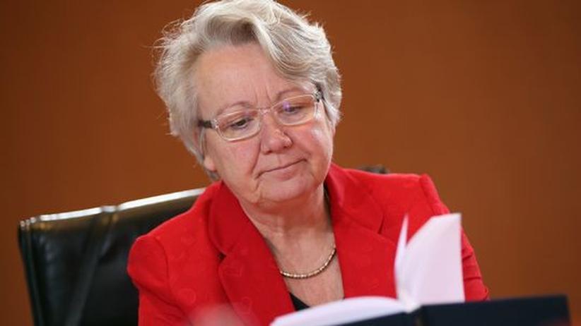Bildungsministerin Annette Schavan