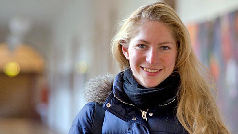 Behinderung: Marie-Luise Erne (Malu) in der Pädagogischen Hochschule in Heidelberg