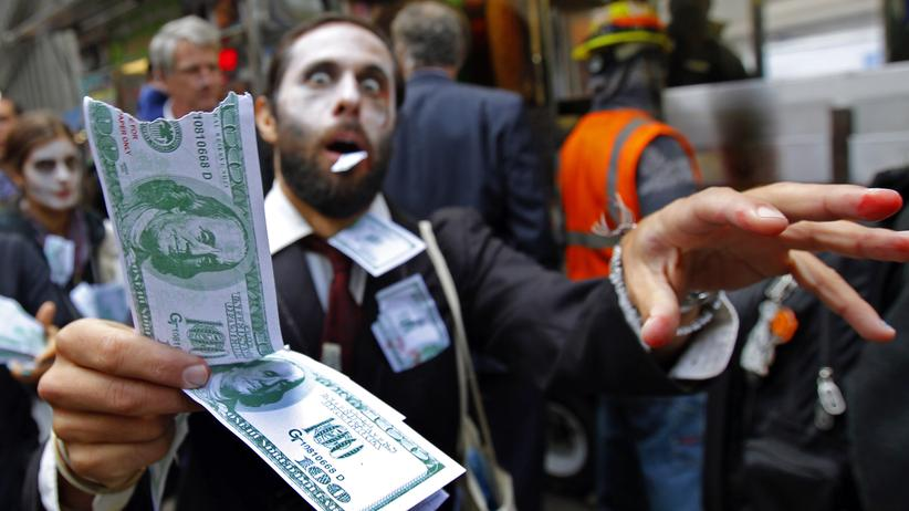 "Occupy Wall Street ""corporate zombie"""