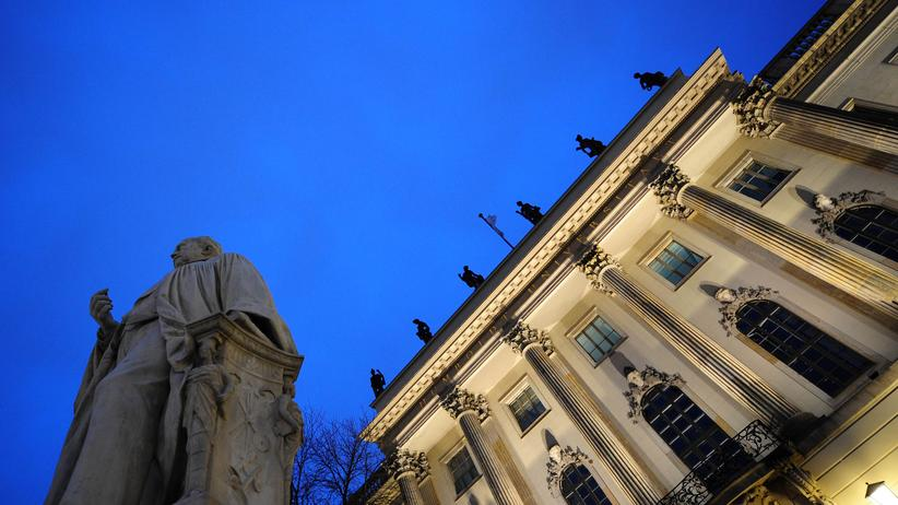 Humboldt-Universität in Berlin, Archivbild aus dem Jahr 2010