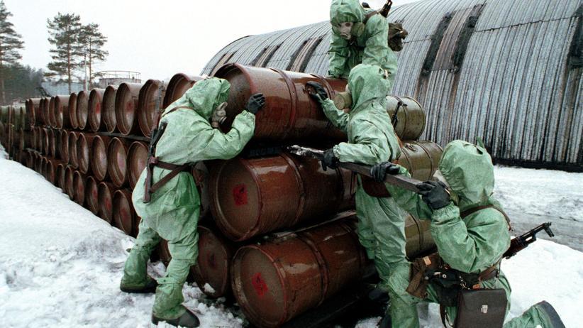 Chemiewaffen vernichten Russland