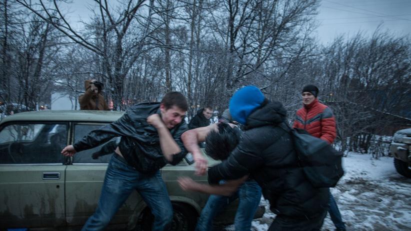 Russland Studenten Drogendealer