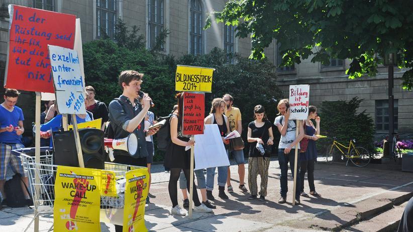 Studentenproteste: Stell dir vor, es ist Bildungsstreik und keiner geht hin