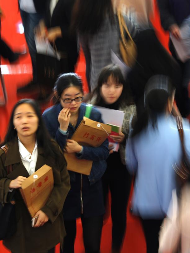 Studenten-Austausch: Chinesische Studenten werden schon als Kinder zum Fleiß erzogen.