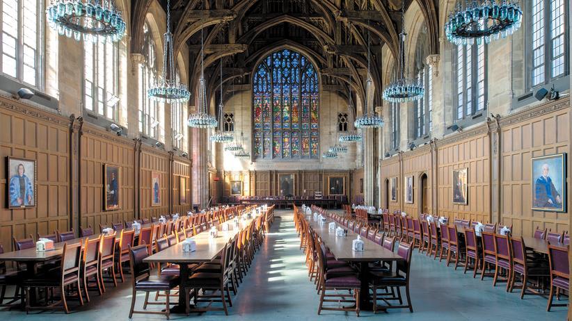 Universität: Die Mensa der Universität Princeton