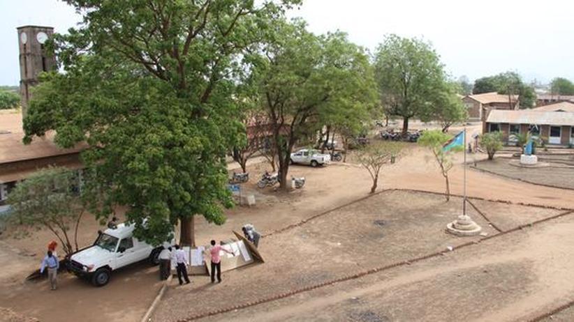 Der Campus der Uni Juba