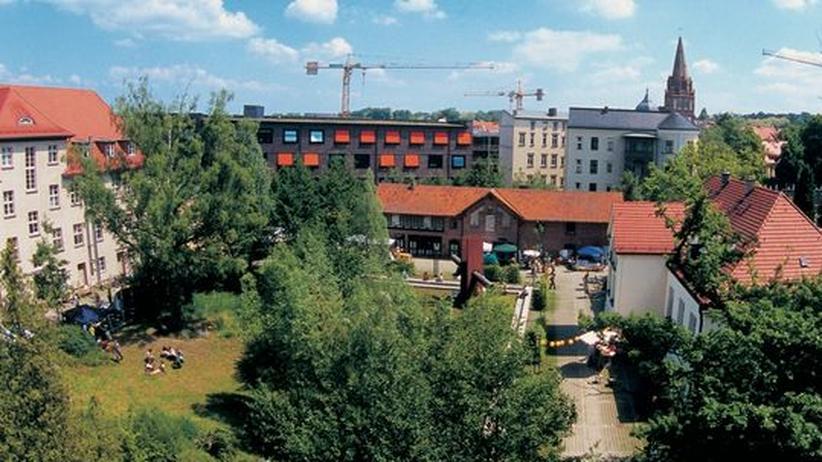 Der Campus der Fachhochschule Eberswalde