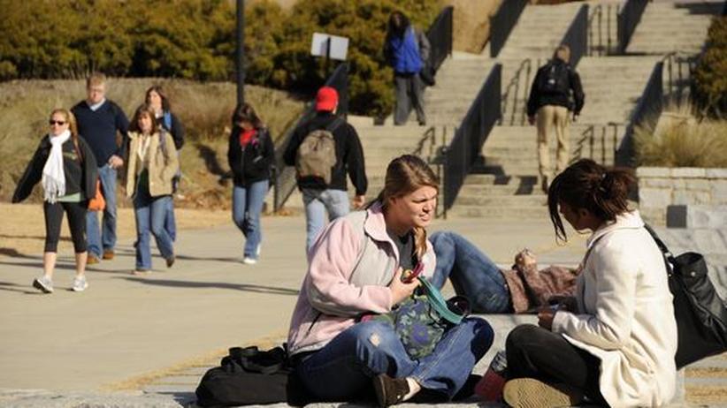 Soziales Uni-Leben : Einer Studie zufolge sind amerikanische Studenten wenig einfühlsam