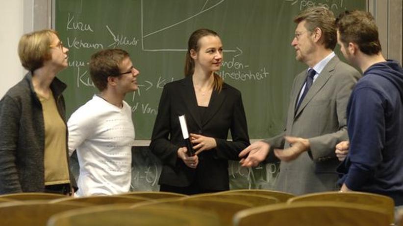 Studenten der Freien Universität Berlin