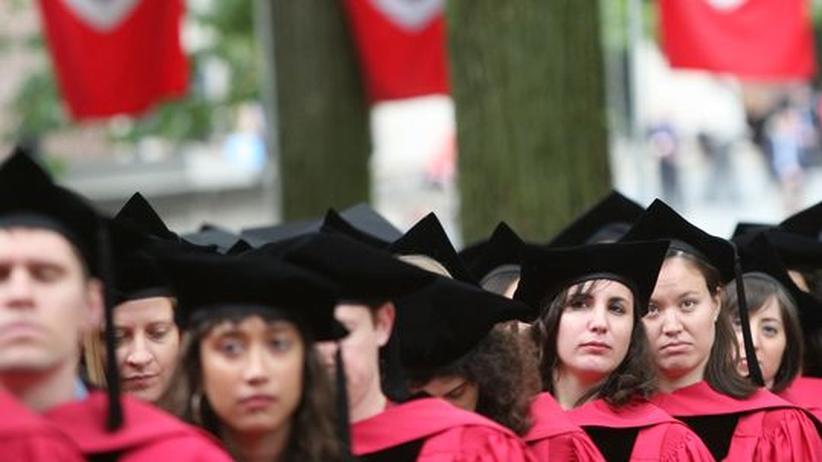 Studenten der Harvard University