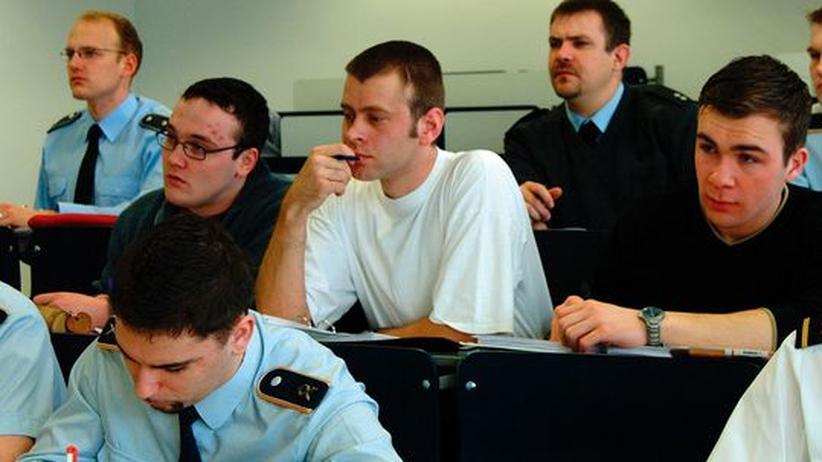Studenten der Bundeswehr