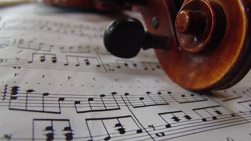 Noten Geige