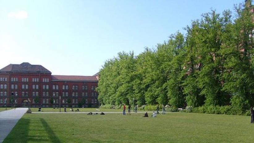 Campus der Uni Rostock