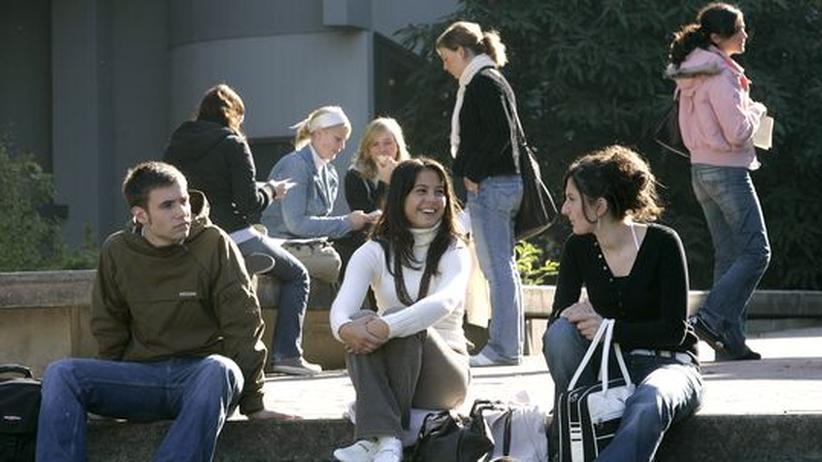 Studierende der Uni Hildesheim