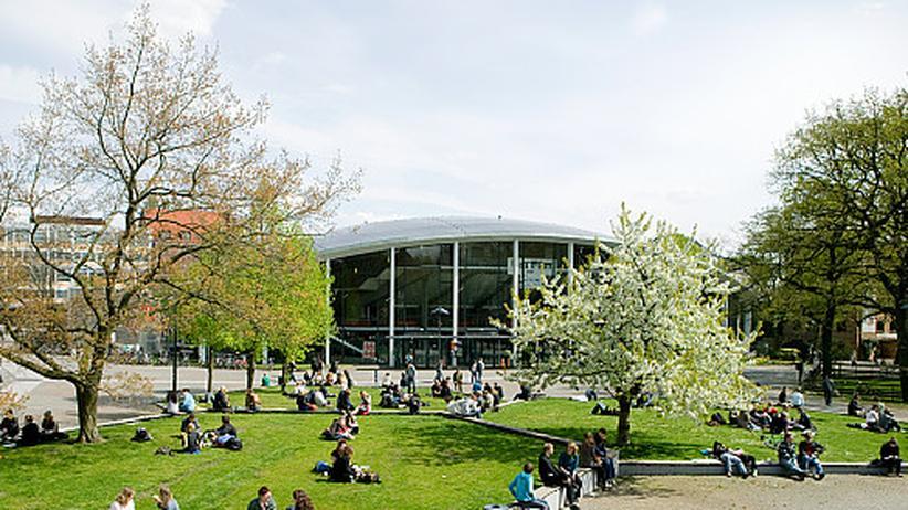 Campus der Universität Hamburg