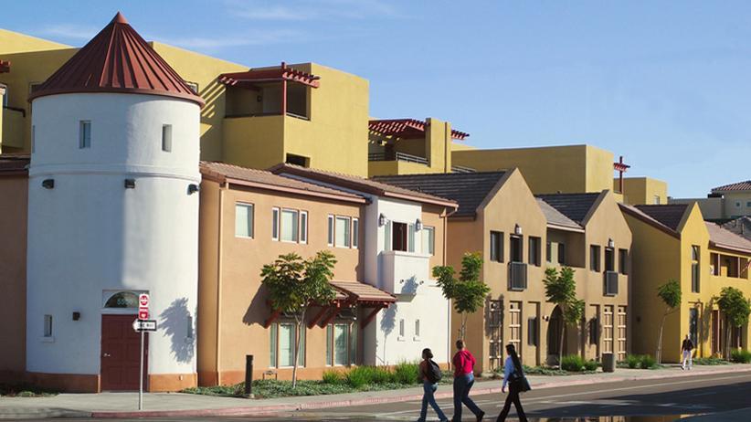 Das Veteranenhaus in San Diego
