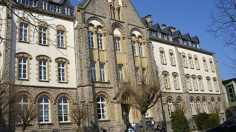 Hauptgebäude der Uni Luxemburg