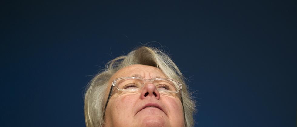 Die Bundesministerin für Bildung und Forschung Annette Schavan (CDU)