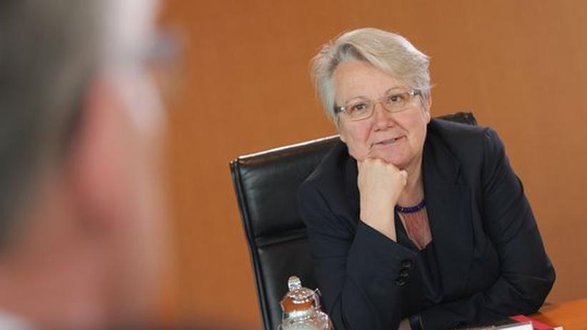 Plagiatsvorwurf: Bildungsministerin Annette Schavan (CDU)