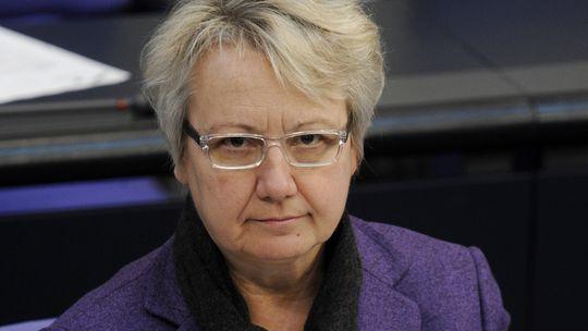 Hat sie bei ihrer Dissertation geschummelt? Bildungsministerin Annette Schavan (CDU)