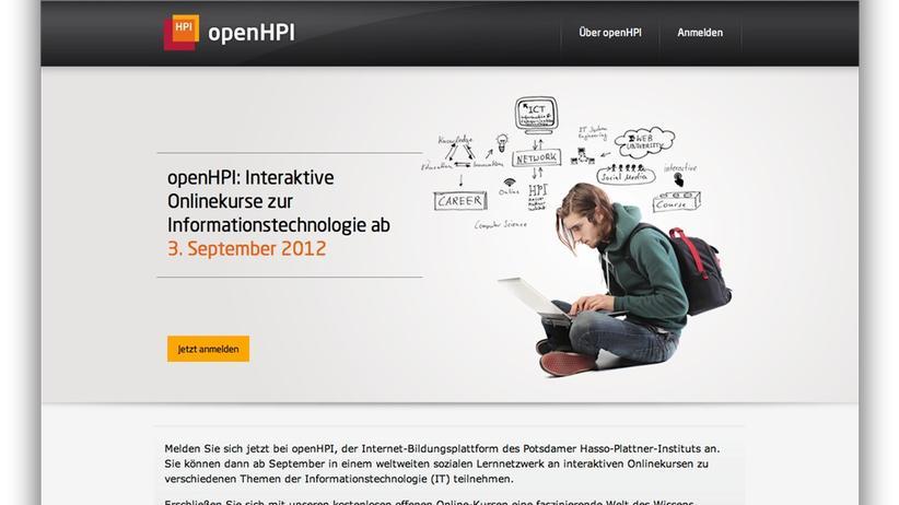 Online-Lehre: Hasso-Plattner-Institut bietet kostenlose Informatikkurse im Netz an