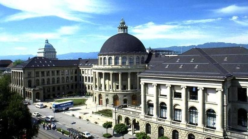 Uni-Sponsoring: Hauptgebäude der ETH Zürich (Archiv)