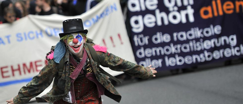 Demonstration in Wiesbaden 2010