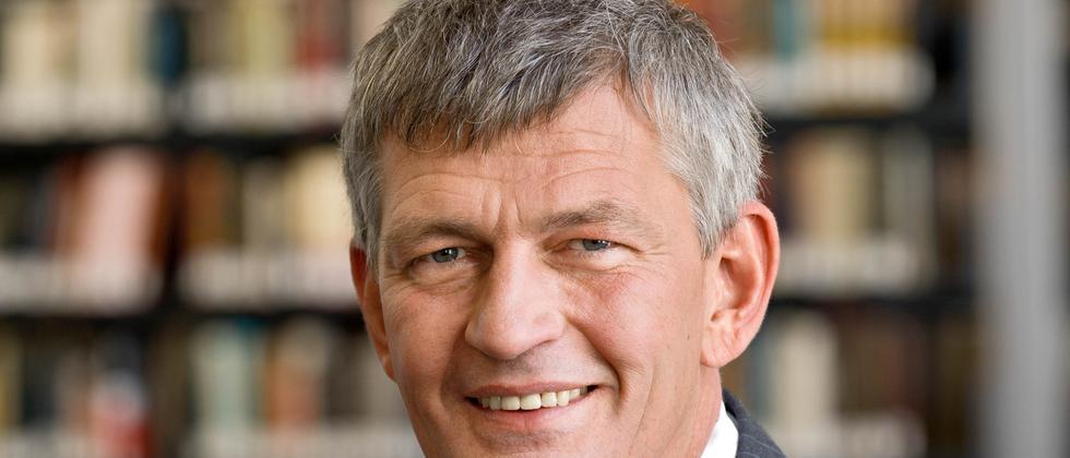 Professor Bernd Huber, Präsident der Ludwig-Maximilians-Universität München