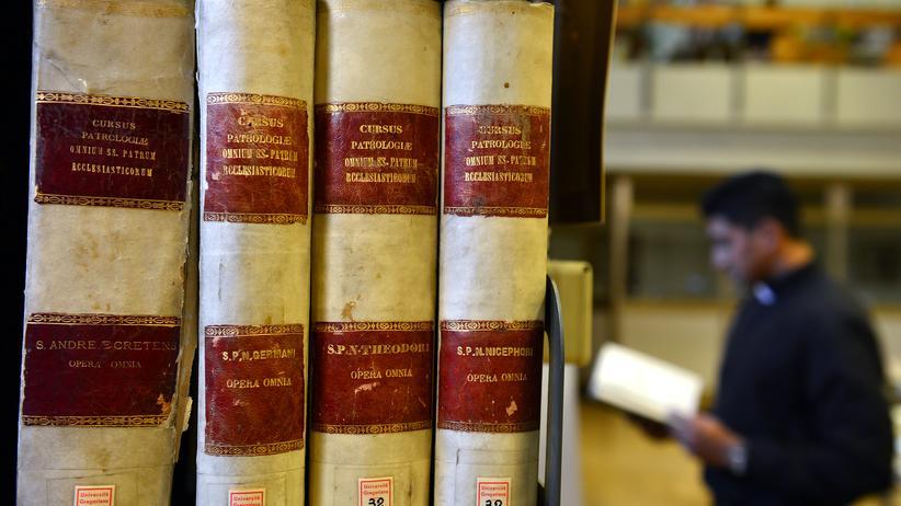 Bibliothek Vatikan Universität Bücherei