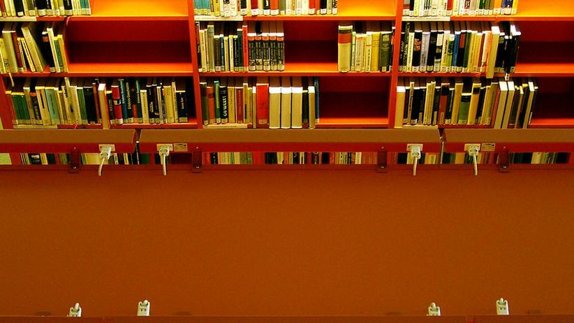 Bibliothek Buch Universität Professoren Studium Student Lehre