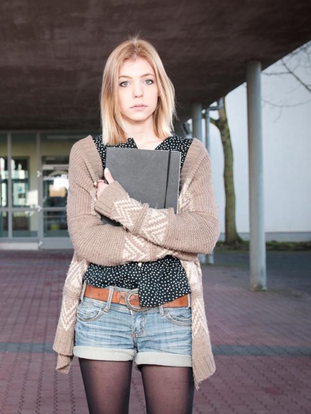 Bologna Studentin