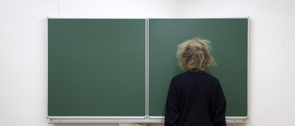 Professoren: Selber Schuld