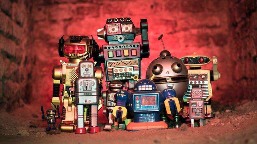 Informatik: Was Roboter über Informatikstudenten denken, ist leider nicht bekannt.