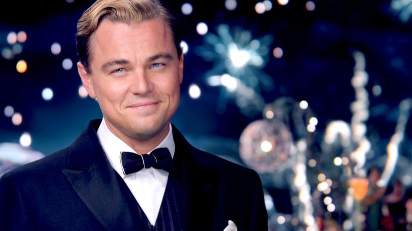 "Leonardo di Caprio in der VErfilmung von ""The Great Gatsby"""