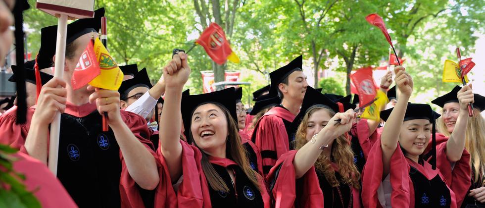 Abschlussfeier von Harvard-Absolventen 2013
