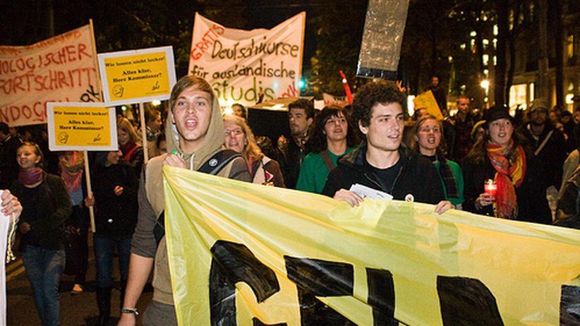 Proteste in Österreich: Die Uni brennt