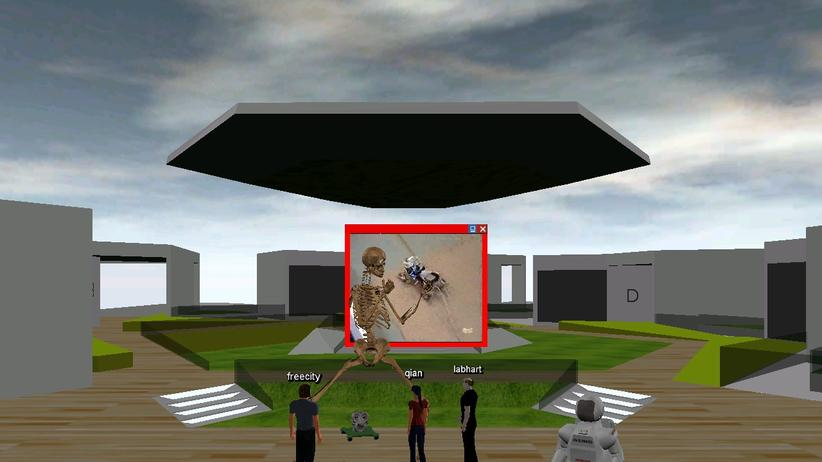 Virtuelles Lernen: Als Avatar im Seminar