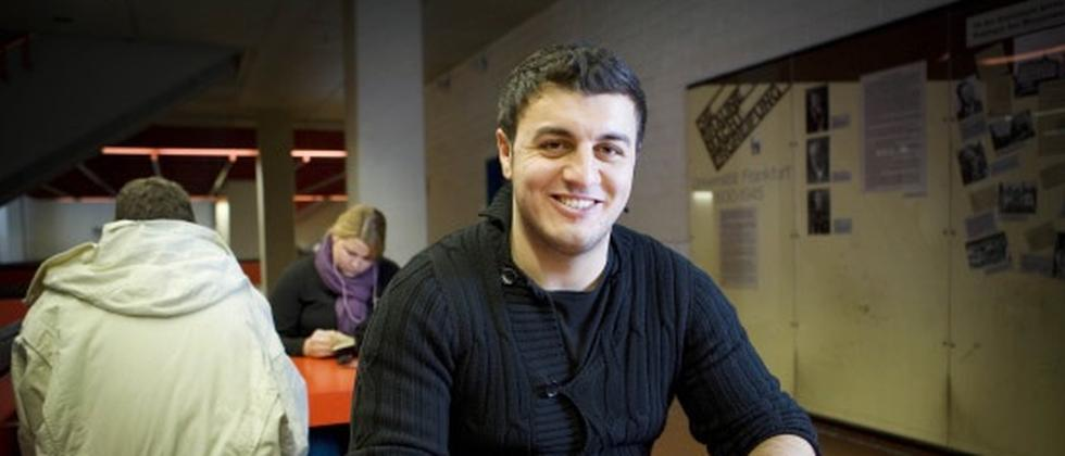Hassan an der Frankfurter Goethe-Uni