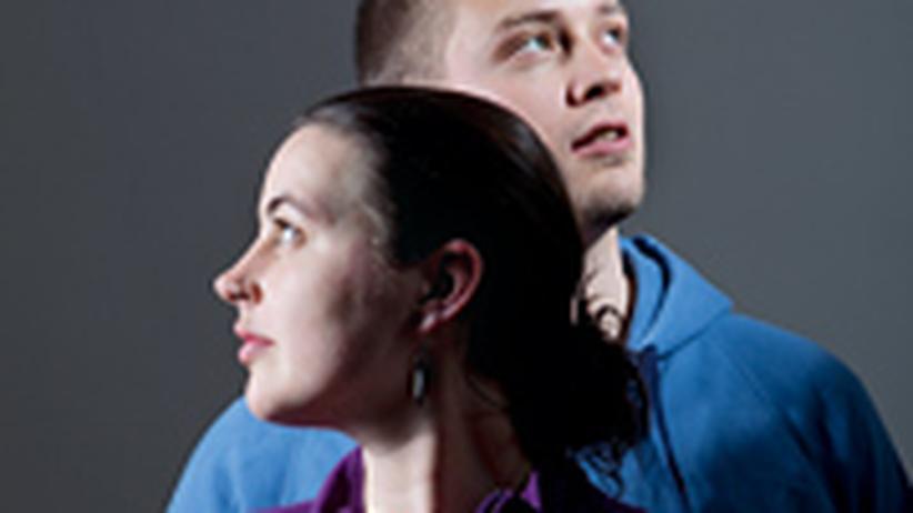 Johanna Zimmermann und Julian Schrögel (beide 25)