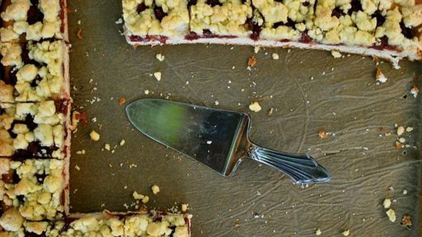 Kuchen Praktikanten-Abschied